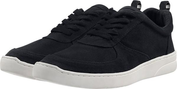 Damen Fairtrade Sneaker aus Bio-Baumwolle - schwarz