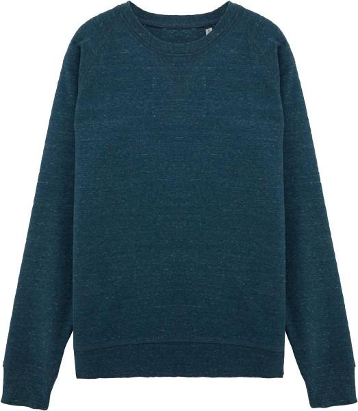 """""""Fair Wear"""" Sweatshirt aus Bio-Baumwolle - heather denim"""