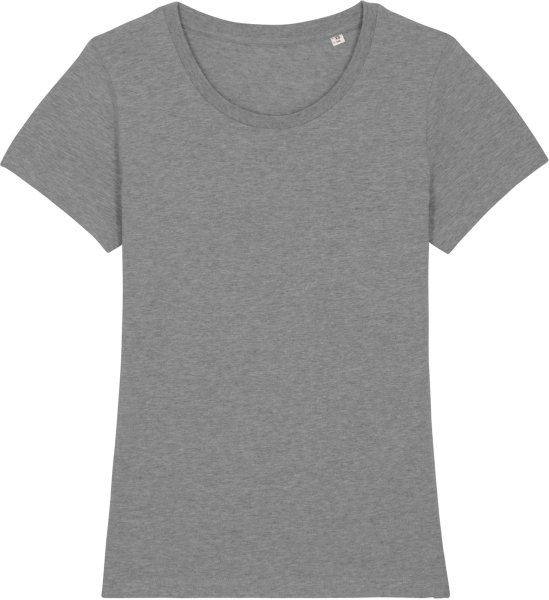 T-Shirt aus Bio-Baumwolle - mid heather grey