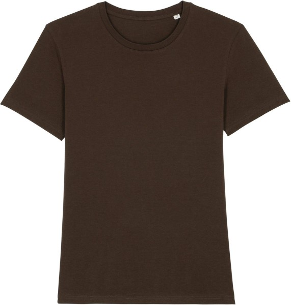 T-Shirt aus Bio-Baumwolle - deep chocolate
