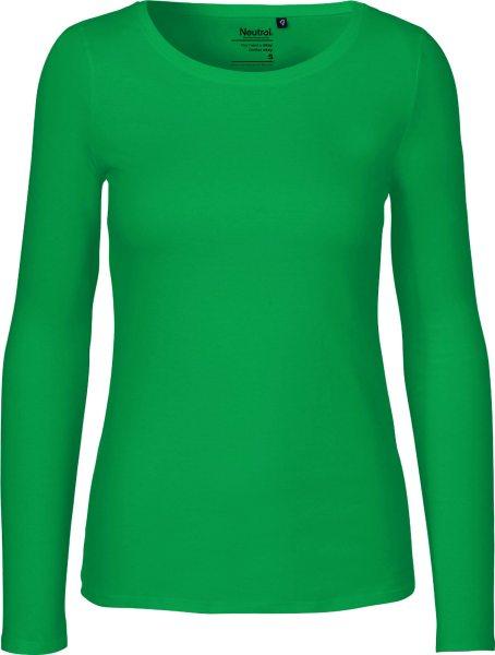 Longsleeve aus Fairtrade Bio-Baumwolle - green