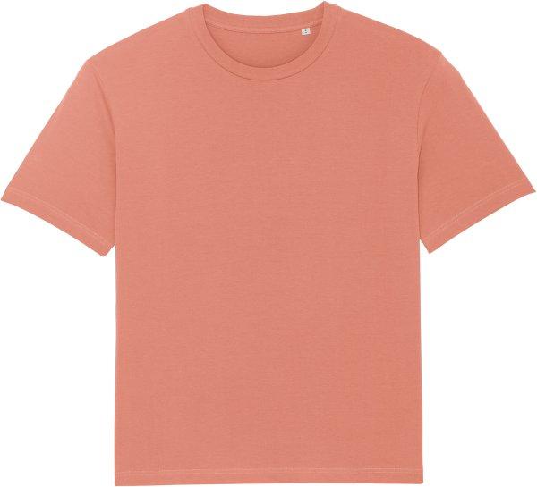 Oversized T-Shirt aus Bio-Baumwolle - rose clay