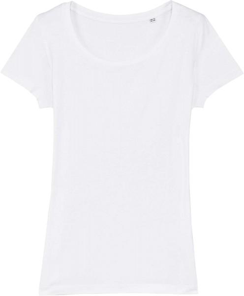 T-Shirt aus Modalfasern - white