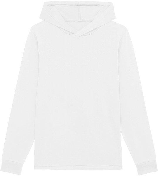 Unisex Jersey-Hoodie aus Bio-Baumwolle - white