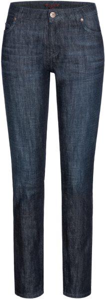 Svenja - 5 Pocket Jeans aus Bio-Baumwolle - dark blue wash
