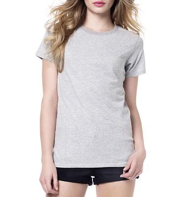 Women''s Urban Brushed Jersey T-Shirt - melange grey - Bild 1