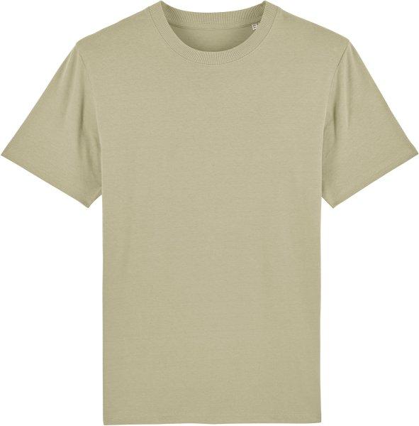 T-Shirt aus schwerem Stoff aus Bio-Baumwolle - sage