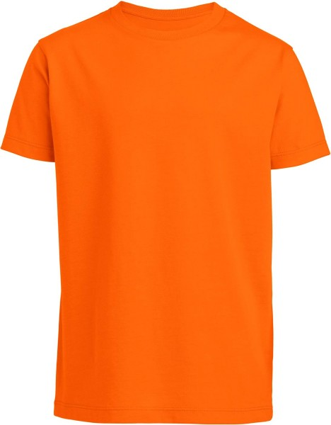 Kinder T-Shirt Bio-Baumwolle - bright orange