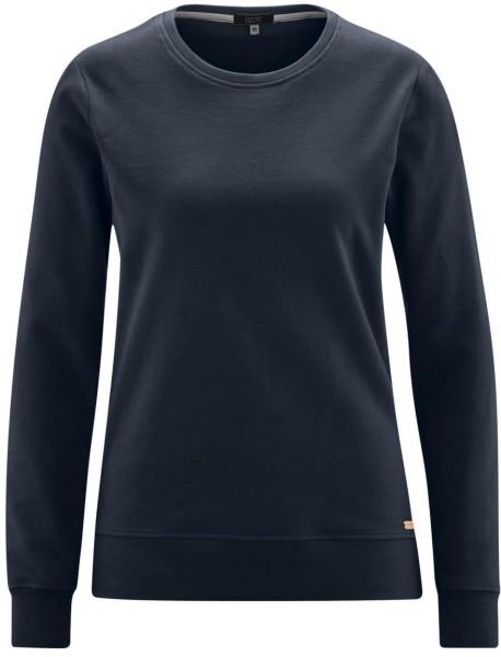 Sweatshirt aus Bio-Baumwolle - ink blue