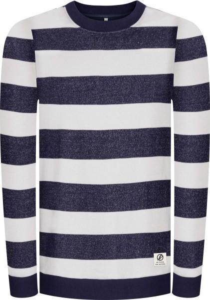 Sweatshirt aus Bio-Baumwolle - navy