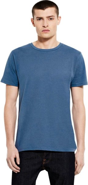 Organic Standard T-Shirt CO2-Neutral faded denim - Bild 1