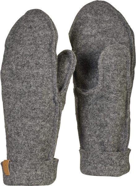 Fäustlinge aus Wolle - grey