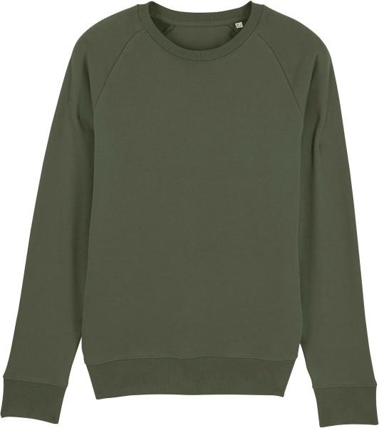 Sweatshirt aus Bio-Baumwolle - khaki