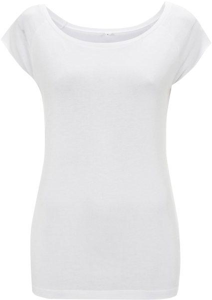 Frauen Bamboo T-Shirt weiß N43