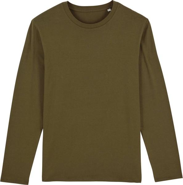 Longsleeve aus Bio-Baumwolle - british khaki