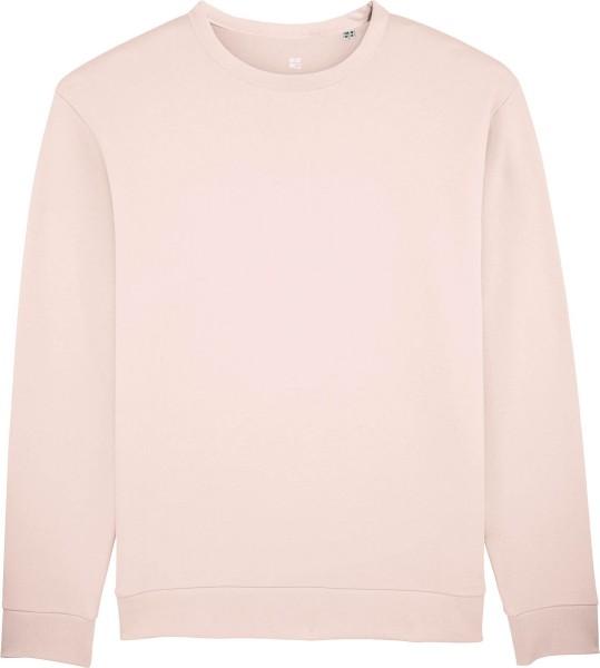 Sweatshirt aus Bio-Baumwolle - candy pink