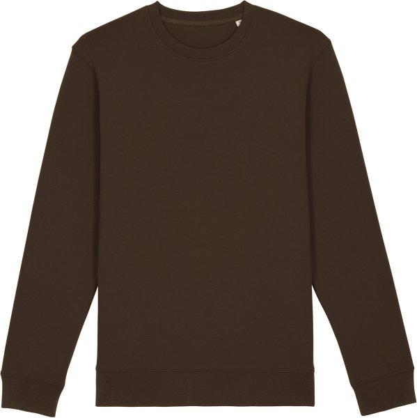 Unisex Sweatshirt aus Bio-Baumwolle - deep chocolate