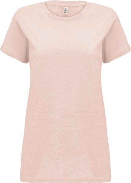 Organic T-Shirt CO2-neutral - misty pink