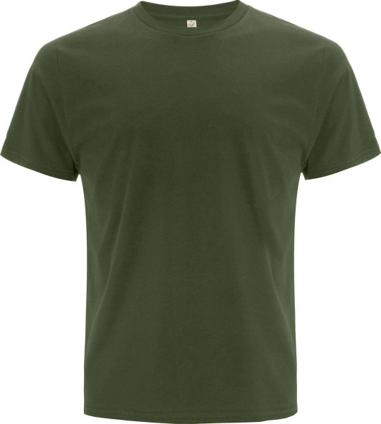 Organic T-Shirt CO2-Neutral moosgrün