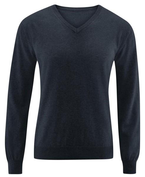 """Pullover """"Daniel"""" aus Bio-Baumwolle - night blue"""