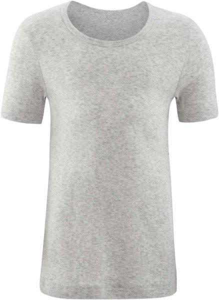 Kinder T-Shirt aus Bio-Baumwolle - grey melange