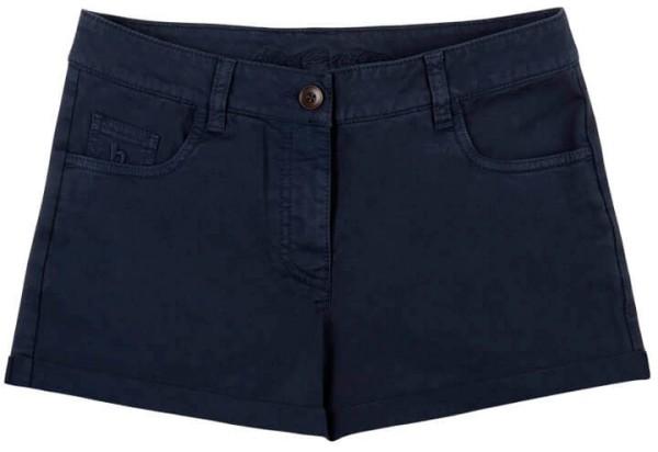 Chino Damen Short aus Bio-Baumwolle - blau