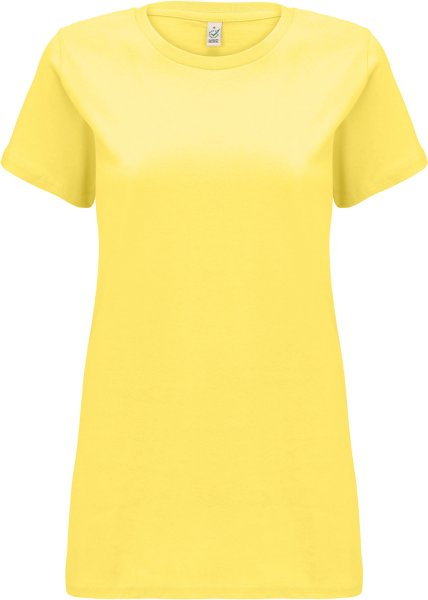 Organic T-Shirt CO2-neutral - buttercup yellow