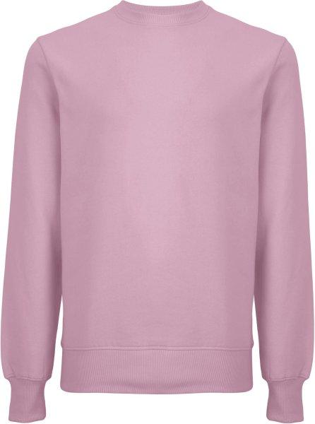 Unisex Sweatshirt aus Biobaumwolle - purple rose