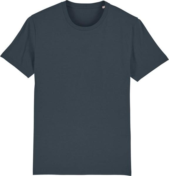 T-Shirt aus Bio-Baumwolle - india ink grey