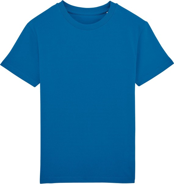 Kinder T-Shirt Bio-Baumwolle - royal blue