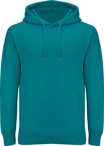 Unisex Pullover Hoodie mit Seitentaschen - sea green