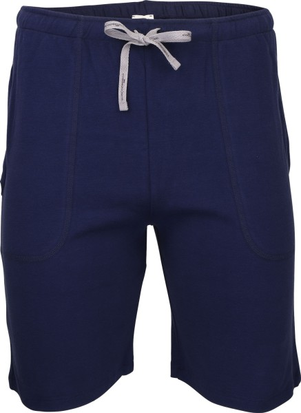 Bermuda-Shorts aus Fairtrade Biobaumwolle - navy