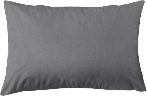 Kissenbezug aus Bio-Baumwolle 60x40 cm - dunkelgrau