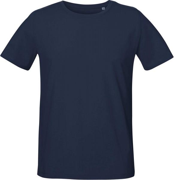 Live - Unisex T-Shirt mit Seitenschlitzen - french navy - Bild 1