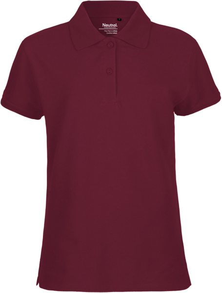 Polo Shirt Bordeaux fair Damen - O22980