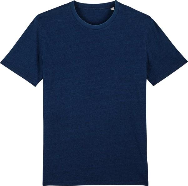 T-Shirt aus Bio-Baumwolle - dark washed indigo