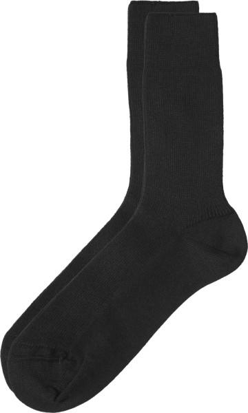 Socken aus Bio-Baumwolle unisex - schwarz