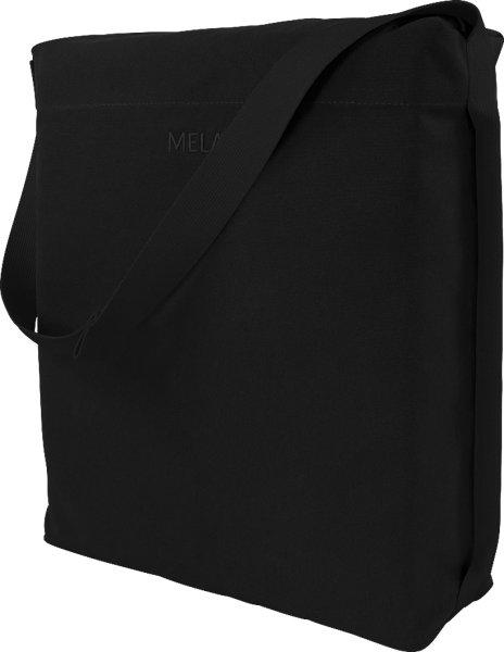 Fairtrade Umhängetasche Diyo aus Bio-Baumwolle - all black