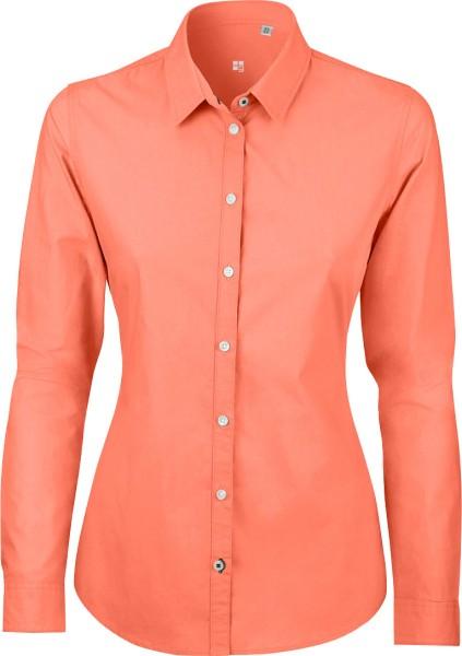 Bluse aus Biobaumwolle - apricot