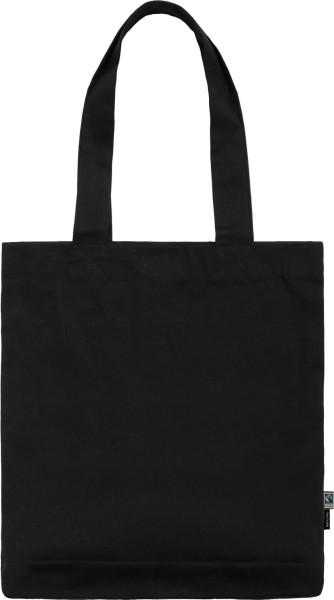 Baumwolltasche schwarz - Organic Twill Bag Fairtrade