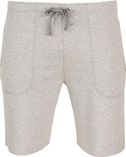 Bermuda-Shorts aus Fairtrade Biobaumwolle - grau-melange
