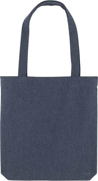 Tragetasche aus recycelter Baumwolle - midnight blue