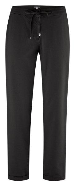 Hose aus Bio-Baumwolle - black