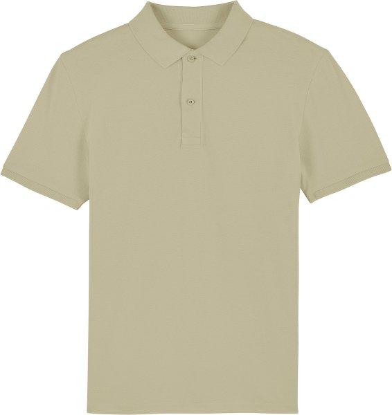 Piqué-Poloshirt aus Bio-Baumwolle - sage