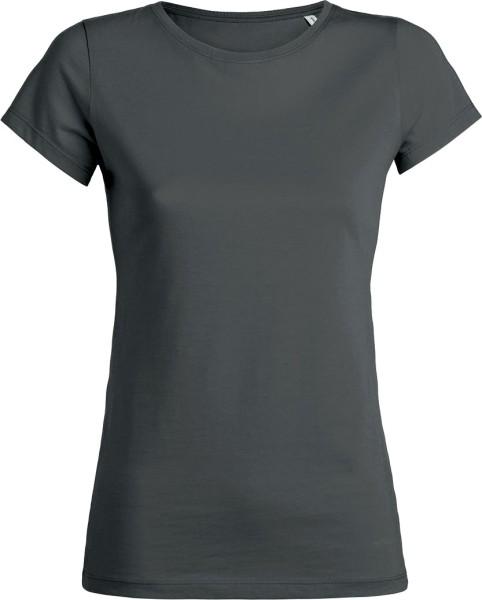 Wants - T-Shirt aus Bio-Baumwolle - anthrazit