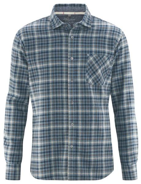 Holzfällerhemd aus Hanf und Bio-Baumwolle - wintersky