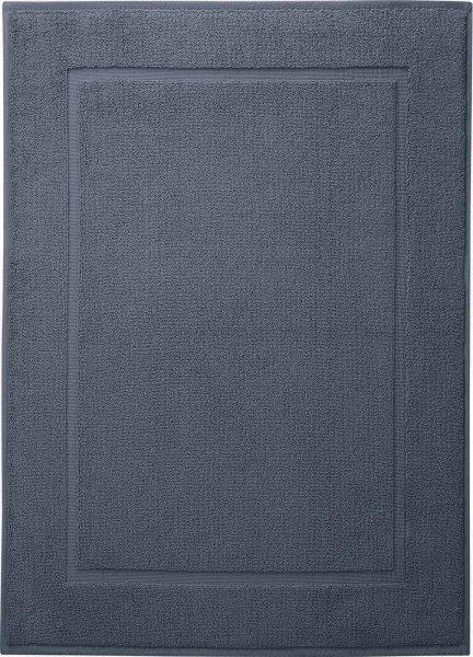Badematte aus Bio-Baumwolle 50x70 cm infinity blue - Bild 1