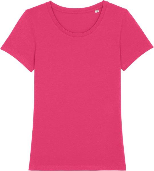 T-Shirt aus Bio-Baumwolle - raspberry
