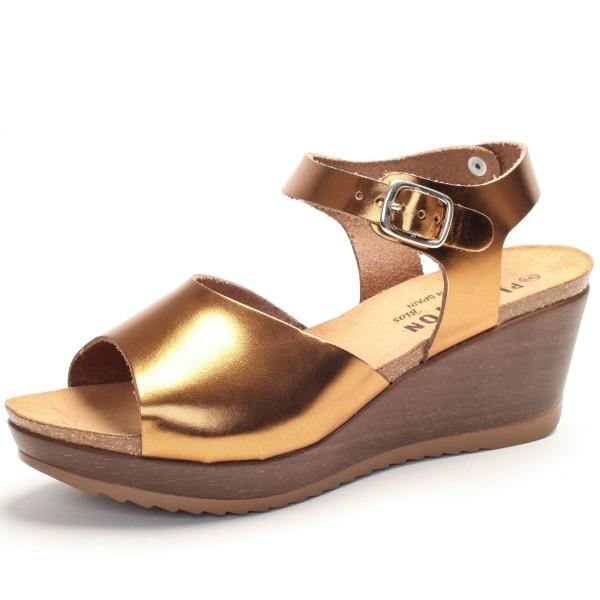 Faire Sandalette hoch bronze 373104