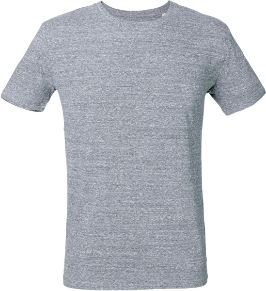 T-Shirt aus Bio-Baumwolle - slub heather blue